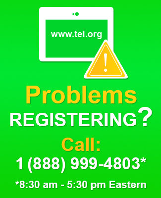 Problems registering, please call 888-999-4803